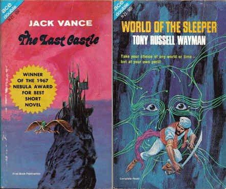 The Last Castle / World of the Sleeper (Ace SF Double, H-21) by Jack Vance