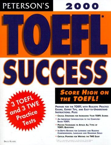 Peterson's Toefl Success 2000 by Peterson's