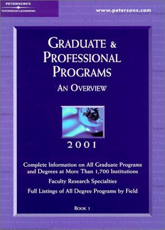 Peterson's Graduate & Professional Programs by Peterson's
