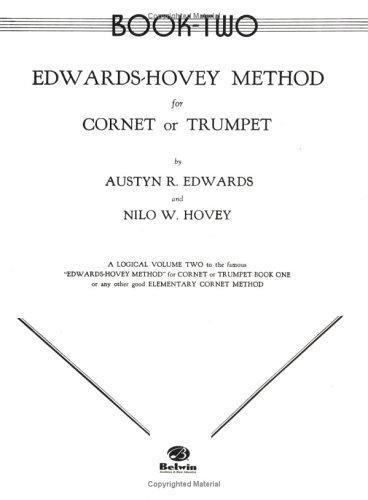 Edwards-hovey Method for Cornet or Trumpet by Nilo Hovey