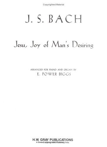 Jesu Joy of Man's Desiring by Johann Sebastian Bach