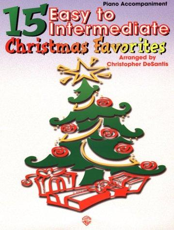 15 Easy to Intermediate Christmas Favorites by Christopher Desantis