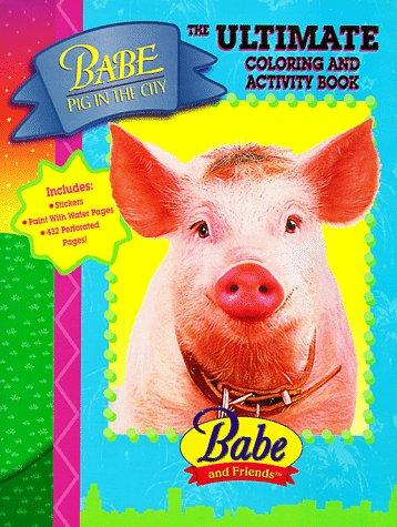 Babe Pig in the City Coloring and Activity Book by Landoll