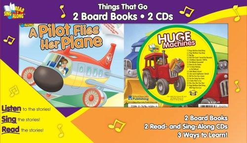 Things That Go Twin Pack by Kim Mitzo Thompson