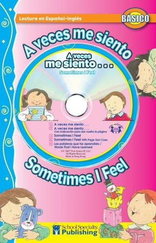 A veces me siento / Sometimes I Feel Spanish-English Reader With CD (Dual Language Readers) by Kim Mitzo Thompson