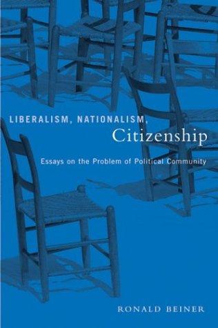 Liberalism, Nationalism, Citizenship
