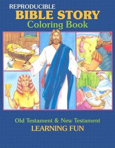 Image 0 of Bible Story Coloring Book (Reproducible Classroom Coloring Books Series)