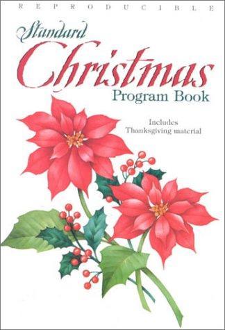 Standard Christmas Program Book