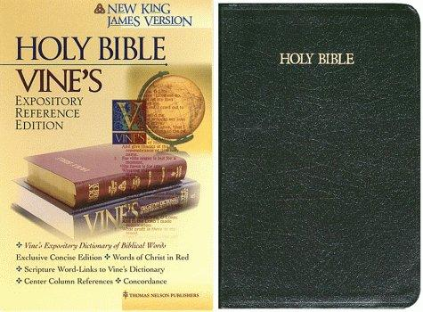 Vine's Expository Reference Edition, Holy Bible (New King James Version)
