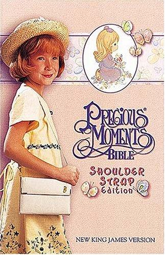 Precious Moments Bible, Small Hands, Shoulder Strap Edition