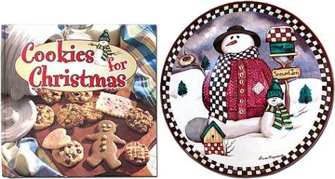 Cookies for Christmas with Keepsake Plate by Laurie Korsgaden