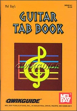 Guitar Tab Book/ Qwik Guide Series by William Bay