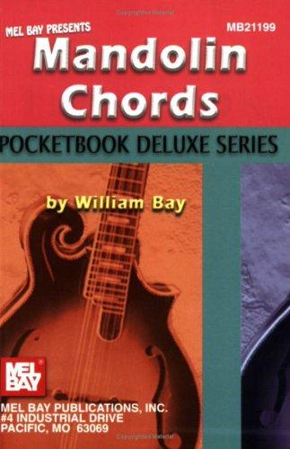 Mel Bay's Mandolin Chords,  Pocketbook Deluxe Series by William Bay