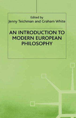 An Introduction to modern European philosophy by Jenny Teichman