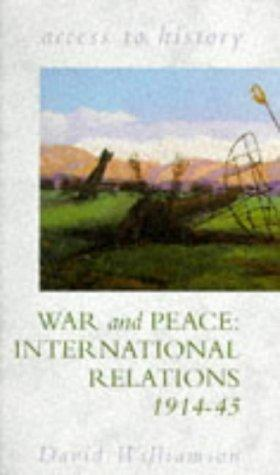 War and Peace by D.G. Williamson