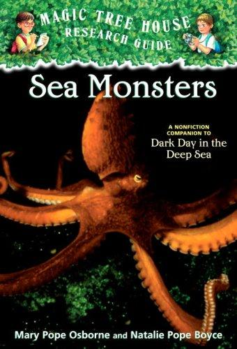 Sea Monsters by Mary Pope Osborne, Natalie Pope Boyce