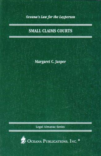 Small Claims Court (Oceana's Legal Almanac Series  Law for the Layperson) by Margaret Jasper