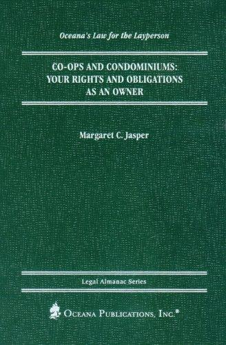 Co-ops and Condominiums (Oceana's Legal Almanac Series  Law for the Layperson) by Margaret Jasper