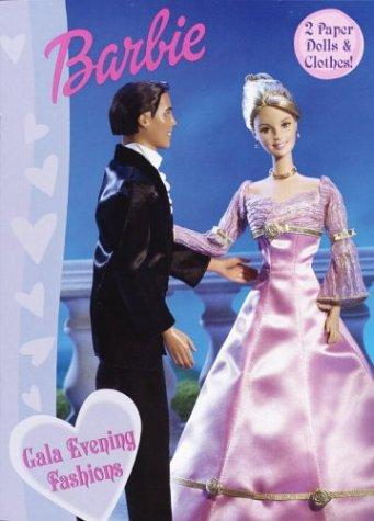 Gala Evening Fashions (Paper Doll Book) by Golden Books