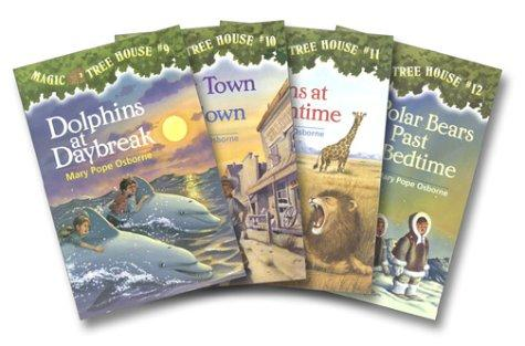 Magic Tree House Boxed Set of 4, Books 9-12 by Mary Pope Osborne