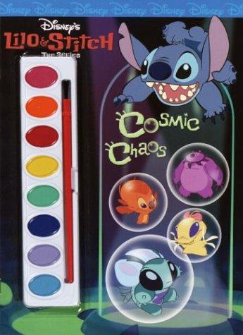 Cosmic Chaos (Paint Box Book) by Golden Books