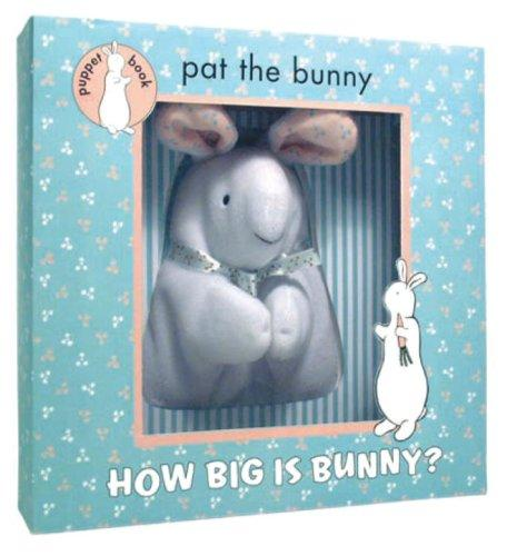 How Big is Bunny (Puppet Book) by Golden Books