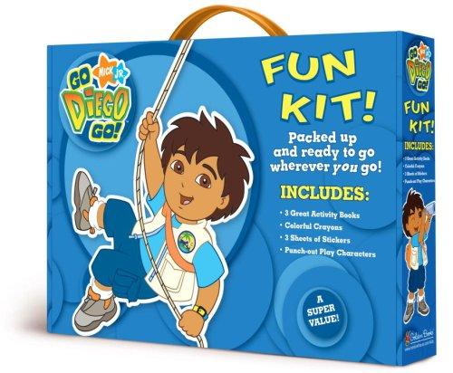Go Diego Go Fun Kit by Golden Books