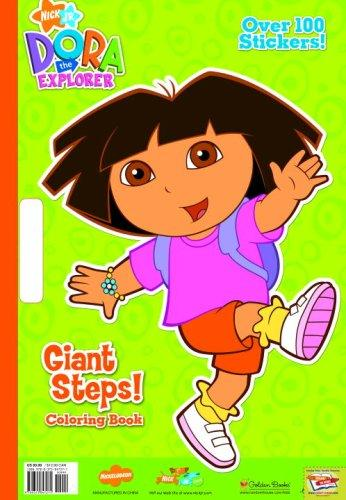 Giant Steps! (Giant Coloring Book) by Golden Books