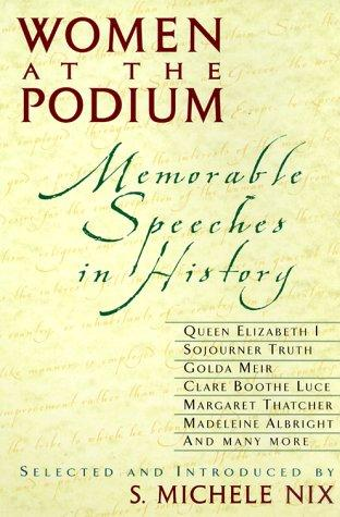 Women at the Podium by S. Michele Nix